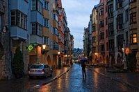 В Инсбруке дождь...