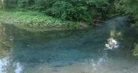 Воды источника Зеленый ключ: можно даже дно увидеть! Йошкар-Ола, май.