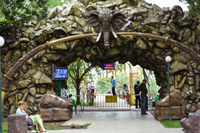 Краснодар: на входе в Сафари-парк