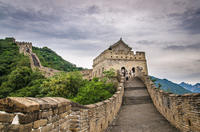 Мечта исполнена. Великая китайская стена покорена.