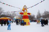 Масленичные гулянья в Сургуте, март 2019