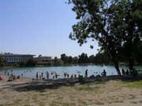Комсомольское озеро в в парке Алишера Навои, Ташкент