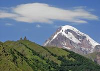 Гора Казбек и Гергети