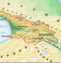 Координаты горы Казбек