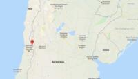 гора Аконкагуа на карте