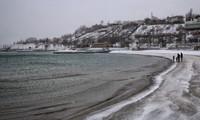 Море в Одессе в январе