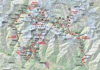 горный массив Аннапурна на карте