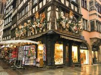 Страсбург: вот так красиво на улицах города