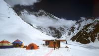 Лагерь на горе