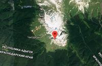 Местоположение горы Фишт