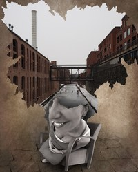Художник исследует глубокую связь между людьми и городами сквозь поколения и годы