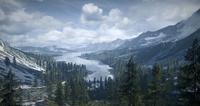 Вид на местную долину