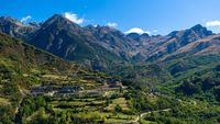 Пейзажи гор Андалуссии