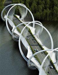 В Пекине в преддверии Олимпиады-22 строят необычный мост Сань-Шань