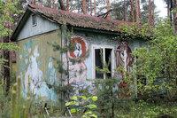 Фотографии из заброшенного детского летнего лагеря в Чернобыле
