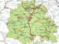Горный массив Златибор на карте