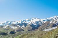 Снег на вершинах Копетдагских гор