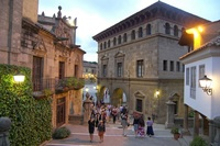 Испанская деревня Монжуик