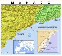 Как Монако увеличивает площадь государства за счет моря