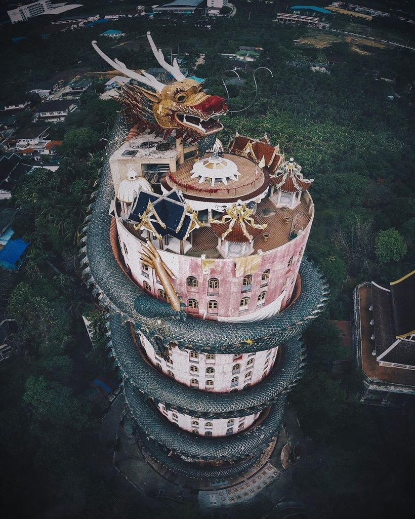 Невероятная Азия сверху: снимки Косуке Курата, от которых кружится голова