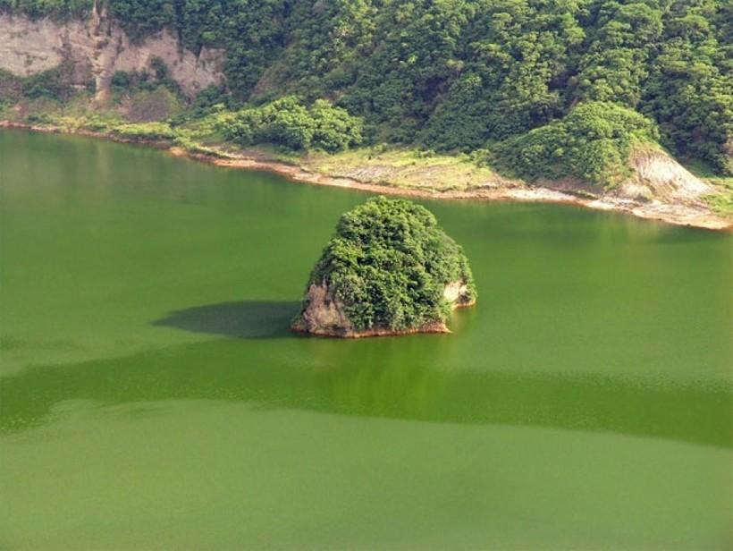 Одно в одном — дивная «матрешка» из озер и островов, созданная природой