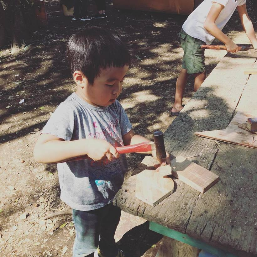 Японцы создали парк, где детям разрешены все опасности, от которых их обычно ограждают