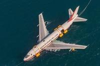 В Бахрейне утопили Boeing, чтобы открыть дайвинг-парк