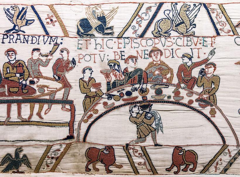 Как проходили средневековые застолья