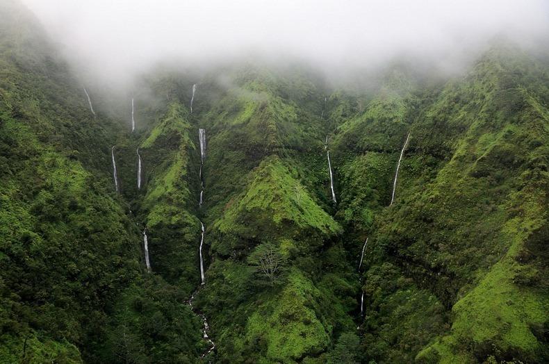 Древняя святыня гавайцев: гора Ваиалеале и Стена слез на Гавайях