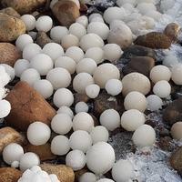 Причудливые «ледяные яйца» на финском берегу поразили пользователей сети