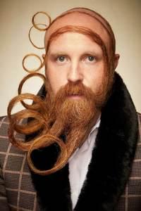 Самые креативные участники Чемпионата бород и усов 2019