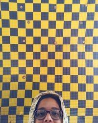 Журналистка запечатлела яркую гамму разноцветных потолков мумбайского такси