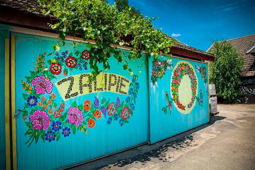 Расписные коттеджи Польши: великолепная традиция, дожившая до наших дней