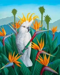 Сюрреалистичные рисунки диких животных от Джона Чинга