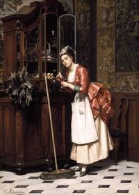 История прислуги: чем занимались, как крутили романы с лакеями, какие секреты хранили