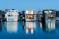 Эйбург — невероятный жилой район в Амстердаме, построенный прямо на воде озера