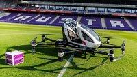 Пассажирские дроны из Китая уже осваивают небо над Европой