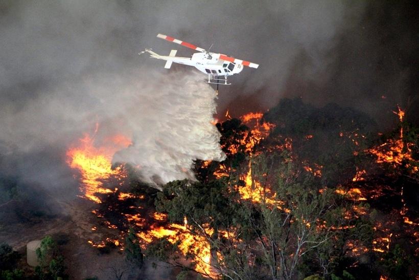 Скоро они заменят вертолеты и самолеты: дроны будут помогать людям тушить пожары