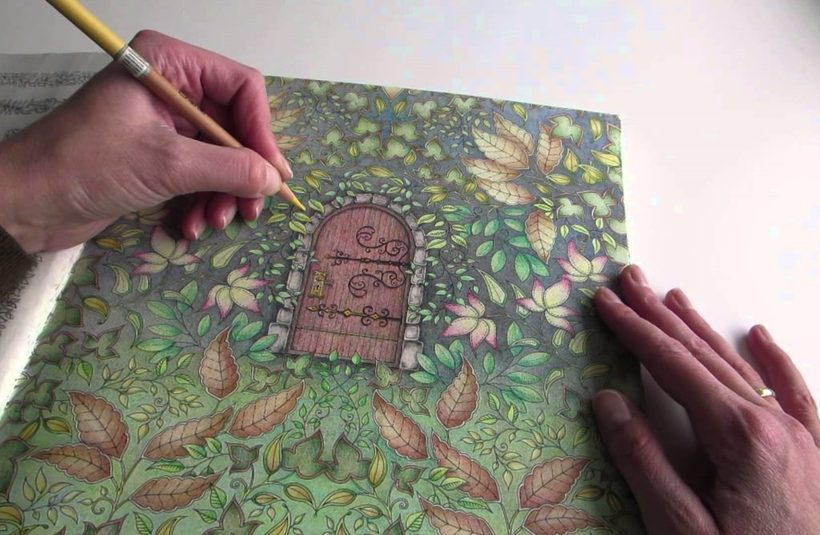 Как художница из Шотландии заработала миллионы, создавая раскраски для взрослых