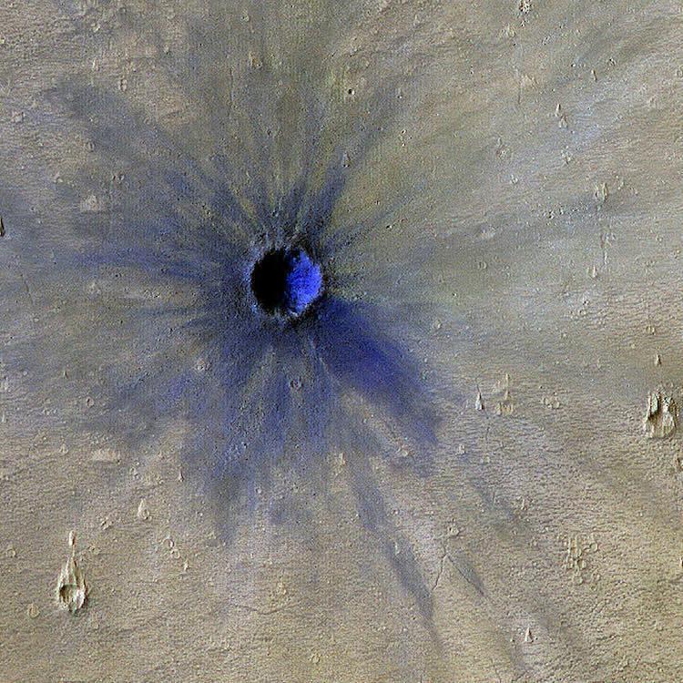Исследователи обнаружили на Марсе «дракона»