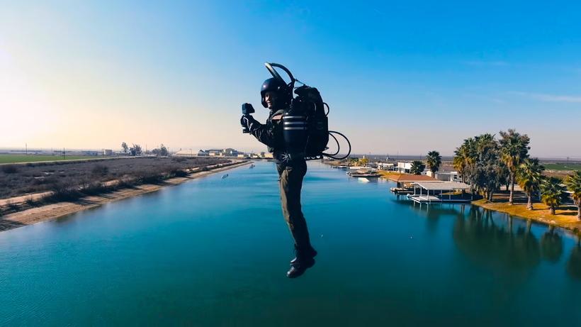 Jet Pack в реальной жизни — ошеломительное видео полета