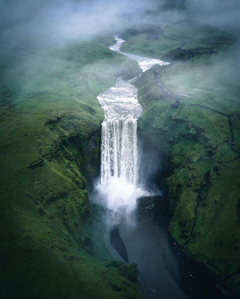 Захватывающие аэрофотографии, подчеркивающие величественную красоту Земли