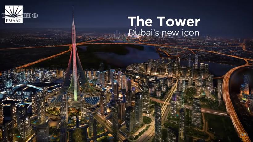 Видео: Достроят ли арабы небоскреб высотой 1000 метров