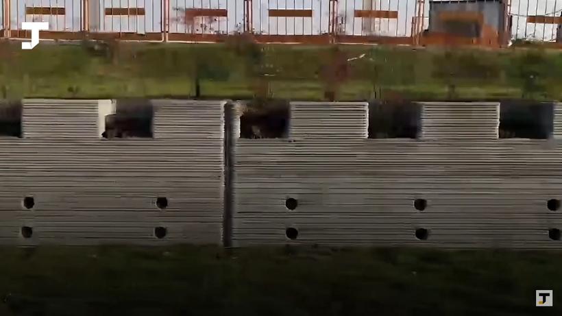 Видео: В Китае на 3D-принтере распечатали стену длиной 500 метров, установив рекорд